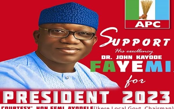 Ekiti Assembly Suspends Council Boss Over Fayemis Campaign Posters The Untame News Ekiti Assembly Suspends Council Boss Over Fayemi's Campaign Posters