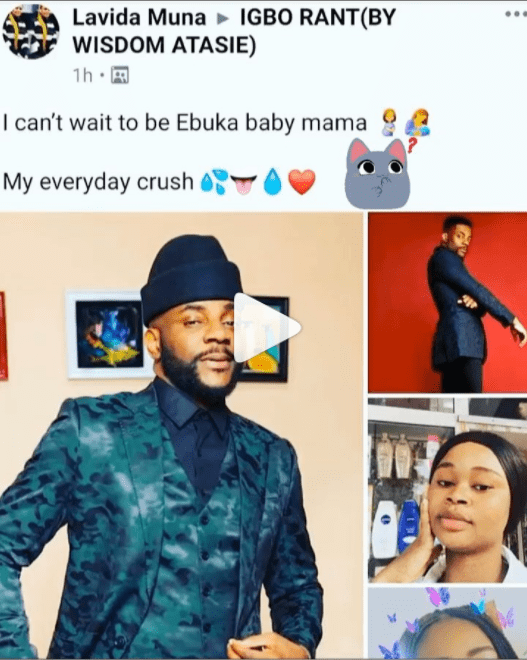 I cant wait to be Ebukas baby mama – Nigerian lady says2 The Untame News