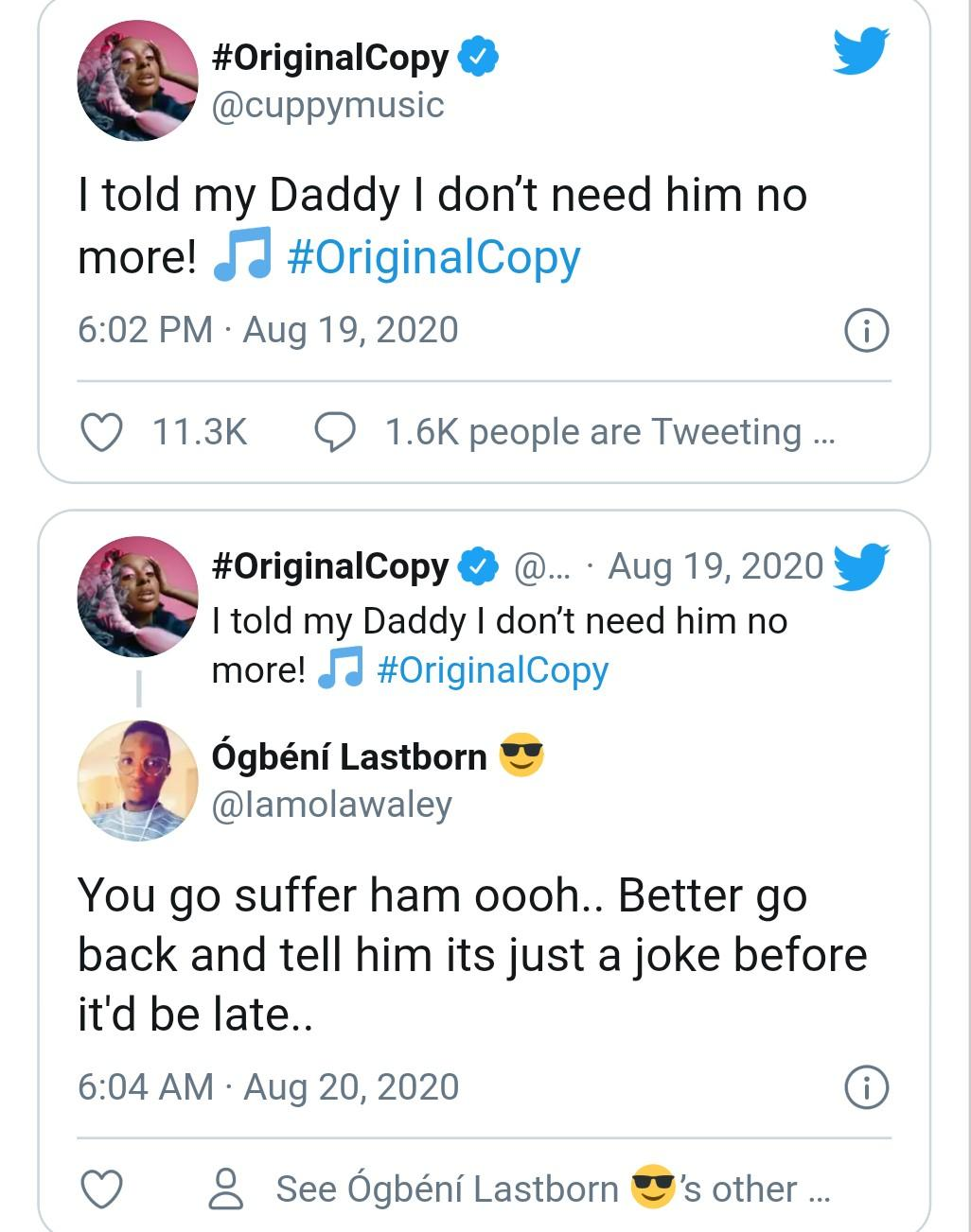 """I told my daddy I dont need him no more – DJ Cuppy2 The Untame News """"I told my daddy I don't need him no more"""" – DJ Cuppy"""