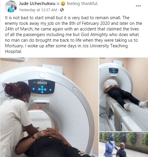Man Narrates How God Woke Him Up On The Way To Mortuary In Jos2 The Untame News