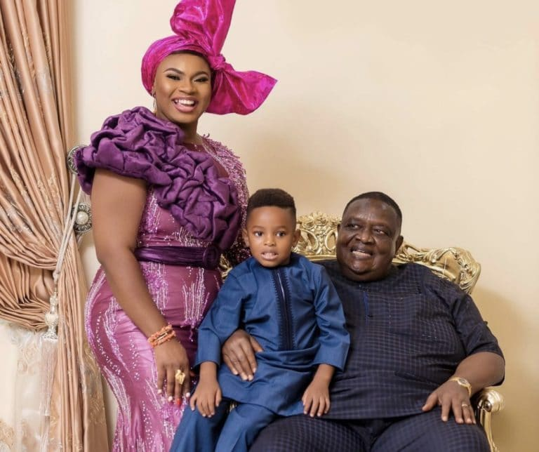 Meet Prince sister who is married to 77yr old billionaire Emmanuel Iwuanyanwu Photos2 The Untame News #BBNaija: Meet Prince' sister who is married to 77yr old billionaire Emmanuel Iwuanyanwu (Photos)