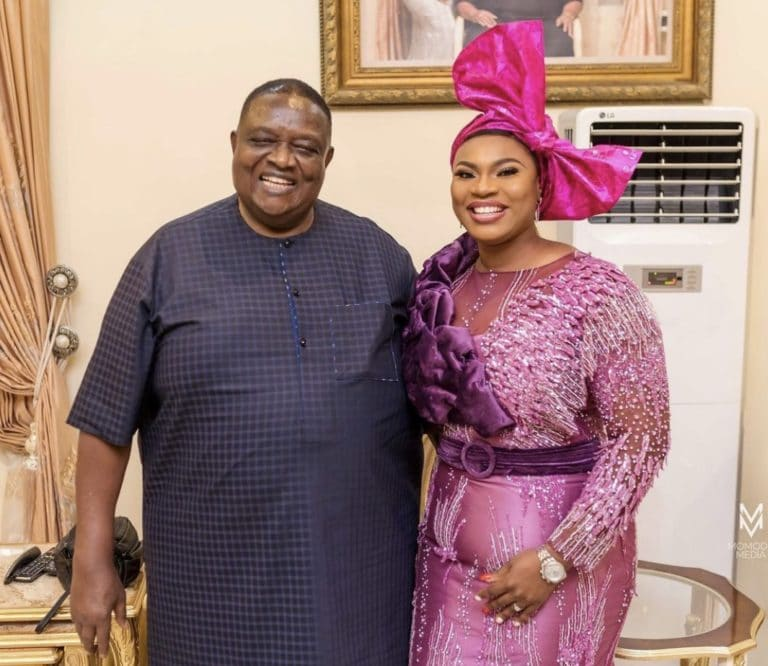 Meet Prince sister who is married to 77yr old billionaire Emmanuel Iwuanyanwu Photos3 The Untame News #BBNaija: Meet Prince' sister who is married to 77yr old billionaire Emmanuel Iwuanyanwu (Photos)