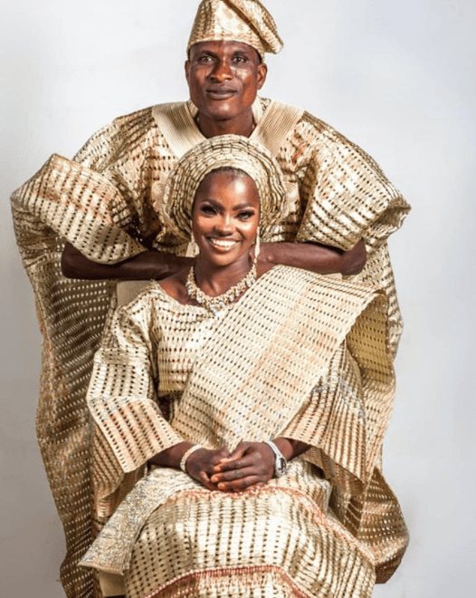Stunning new photos of blue-eyed woman and husband who allegedly abandoned her