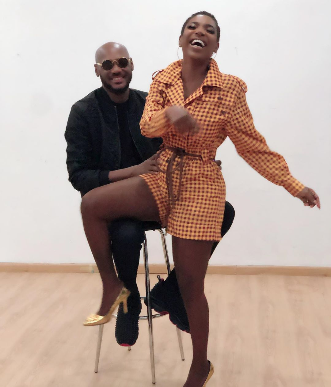 Annie Idibia celebrates hubby 2babas 45th birthday with loved up video The Untame News Annie Idibia celebrates hubby