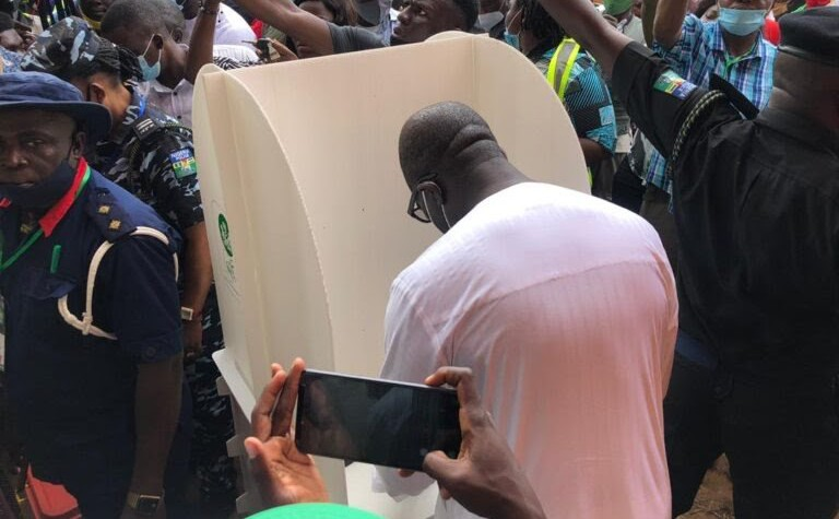 Obaseki Wins Polling Unit The Untame News BREAKING: Obaseki Wins Polling Unit