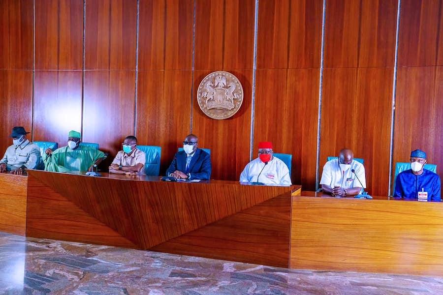 Obaseki visit Buhari 1 The Untame News Obaseki Pays 'Thank You' Visit To Buhari