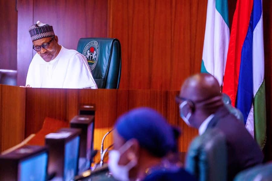 Obaseki visit Buhari 2 The Untame News Obaseki Pays 'Thank You' Visit To Buhari