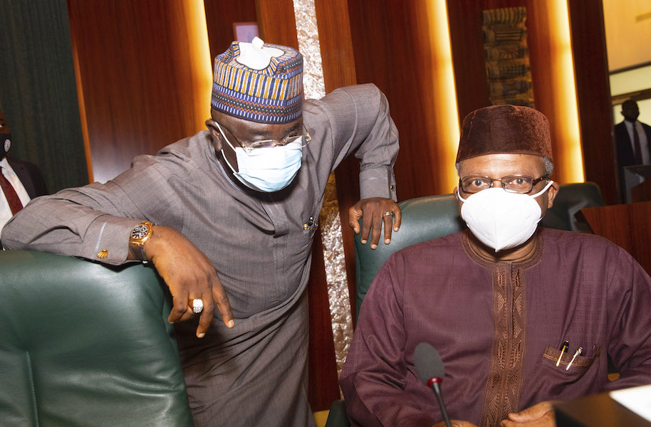Obaseki visit Buhari 5 The Untame News Obaseki Pays 'Thank You' Visit To Buhari