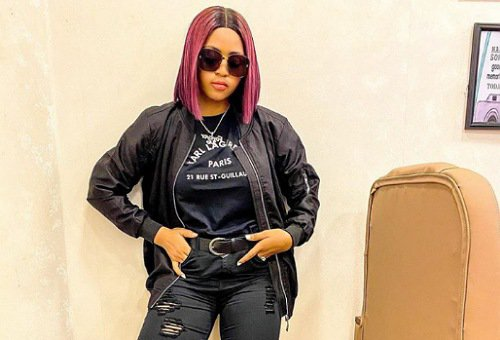 Regina Daniels twins with her cute son Prince Munir in matching outfits Photos The Untame News Prince Munir in matching outfits (Photos)