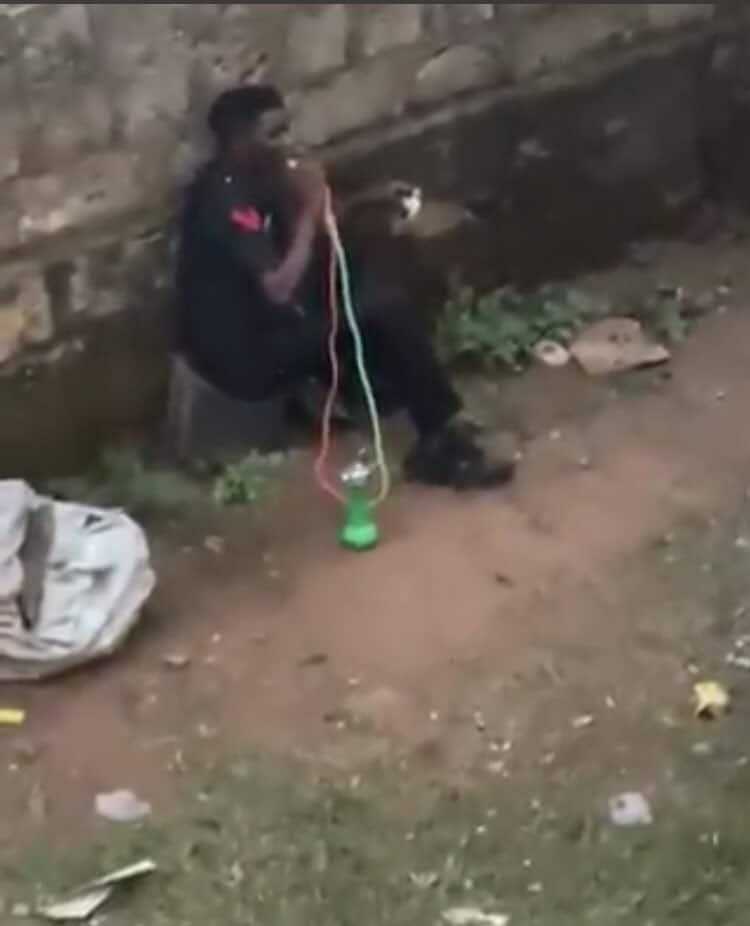 police smoking The Untame News Policeman Smoking Shisha Goes Viral